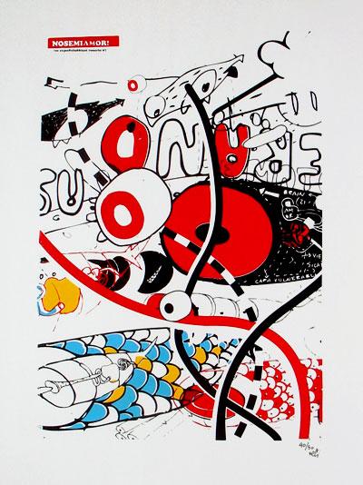 Tec serigrafia - Nosemiamor - 2007